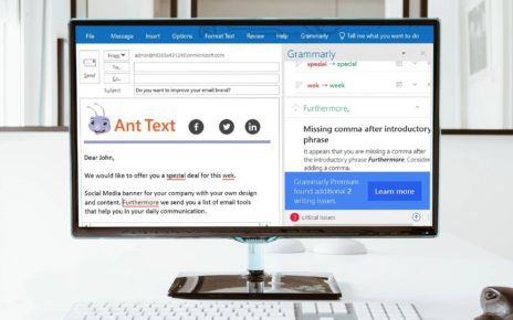 Ant Text and Grammarly