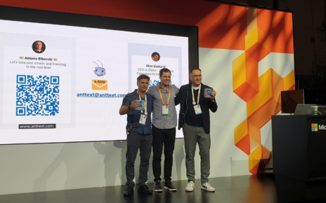 Ant Text 2nd place at Microsoft Ignite